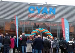 Opening CYAN Kringloop groot succes